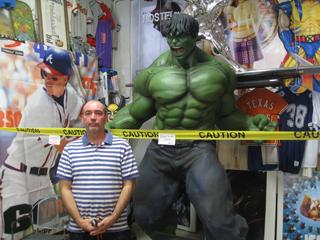 Brad Wilson, owner of All Star Comics in El Paso (Monica Uribe/Borderzine.com)