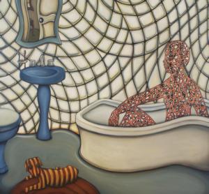 """Búsqueda de un sucio pensamiento alojado como recuerdo"" por Leo Alvizo (Courtesía de Leo Alvizo)"