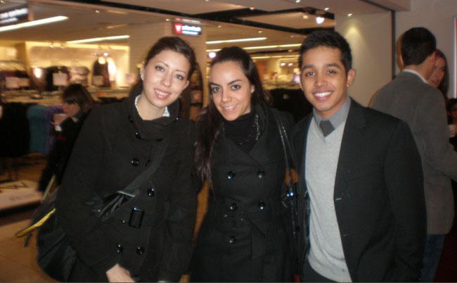 Borderzine reporter, Esmeralda Almanza (center) with fellow friends at the Big Apple (Courtesy of Esmeralda Almanza)