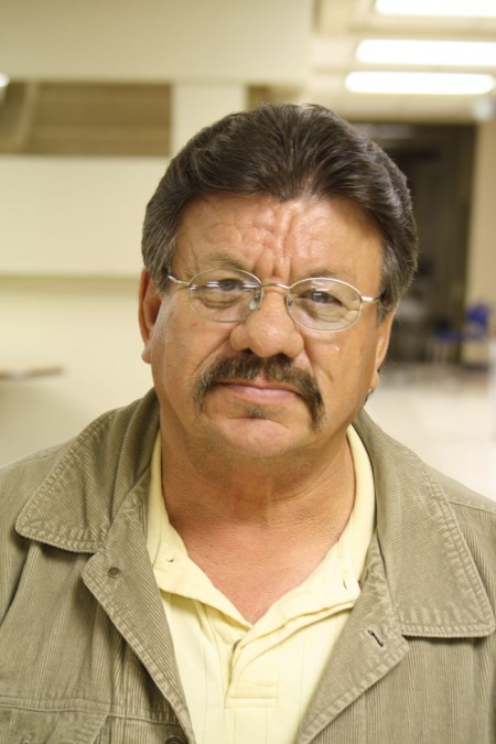 Carlos Rodriguez, former ASARCO worker and environmental advocate, is concerned about the real amount of toxic material left in ASARCO (Raymundo Aguirre/Borderzine.com)