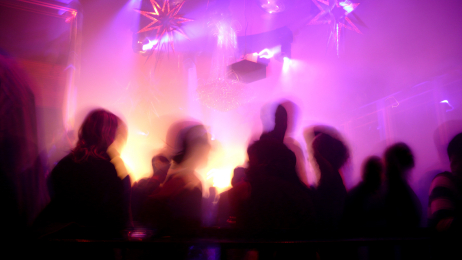 Nightclub Scene stockphoto