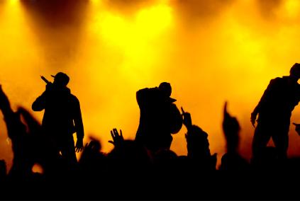 hip hop singers silhouttes