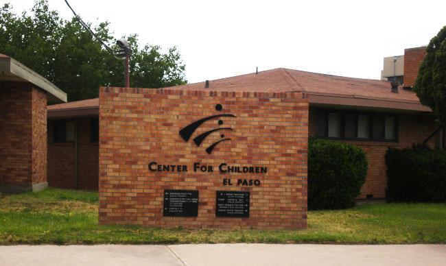 Child Crisis Center of El Paso is located in 2100 N. Stevens (Esmeralda Almanza/Borderzine.com)