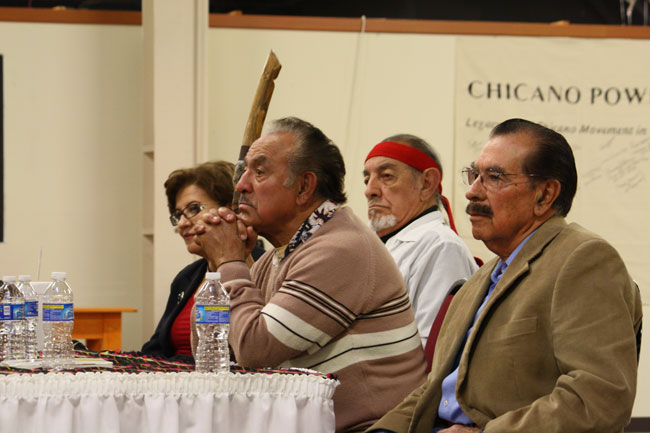 Carmen Rodríguez, Jesús B. Ochoa, Alfonso Frías and Jesús Quesada. (Raymundo Aguirre/Borderzine.com)