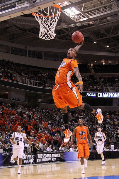 ribble, swish, slam, fly and dunk. That describes Randy Culpepper. (Photo courtesy of UTEP AThletics)