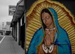 The Virgin on Piedras. (Steven Banegas/Borderzine.com)