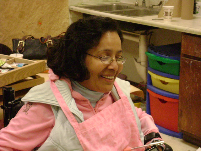 Martha Arenas le sonríe a la vida. (Jago Molinet/Borderzine.com)