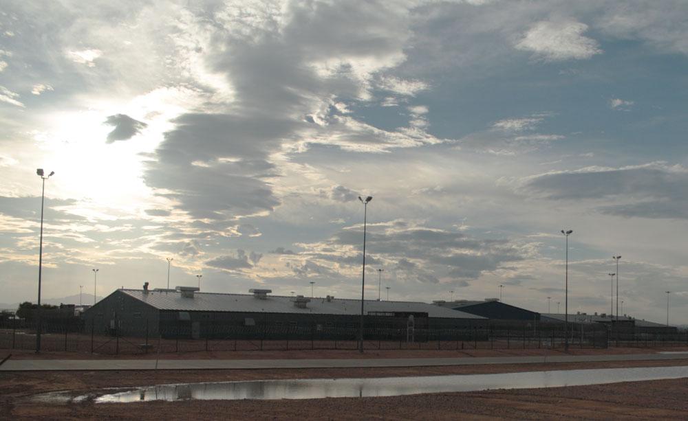 Rogelio Sanchez State Prison. (Raymundo Aguirre/Borderzine.com)