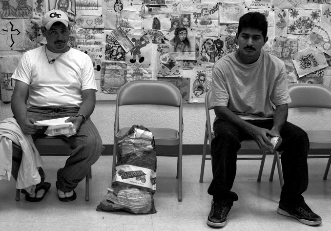 With no money and no place to go, some of the deportees don't know where to start. (David Smith-Soto/Borderzine.com)