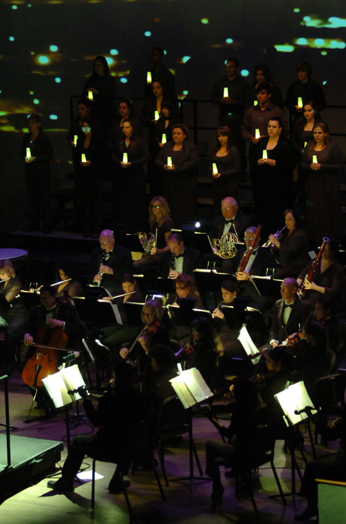 Orquesta Sinfónica de la Universidad Autónoma de Ciudad Juárez. (Juan Torres/Borderzine.com)