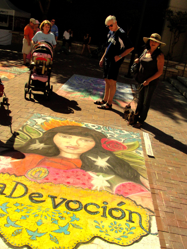 Chalk The Block 2010, El Paso. (Omar Perez/Borderzine.com)