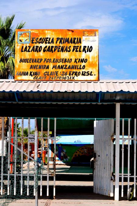 Escuela Primaria at Bahía Kino, Sonora, Mexico. (George Thomson)