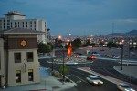 The lights of Ciudad Juarez can be seen from the UTEP campus. (Danya Hernandez/Borderzine.com)
