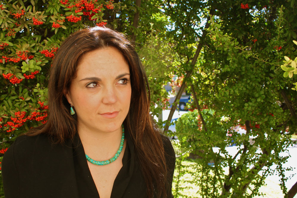 UTEP Ph.D. student, Lucia Dura. (John De Frank/Borderzine)