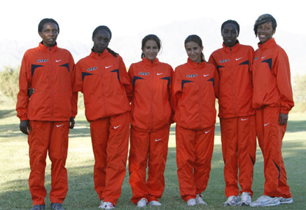 UTEP Women's Track and Field team. (Michael P. Reese/Courtesy of UTEP Athletics)
