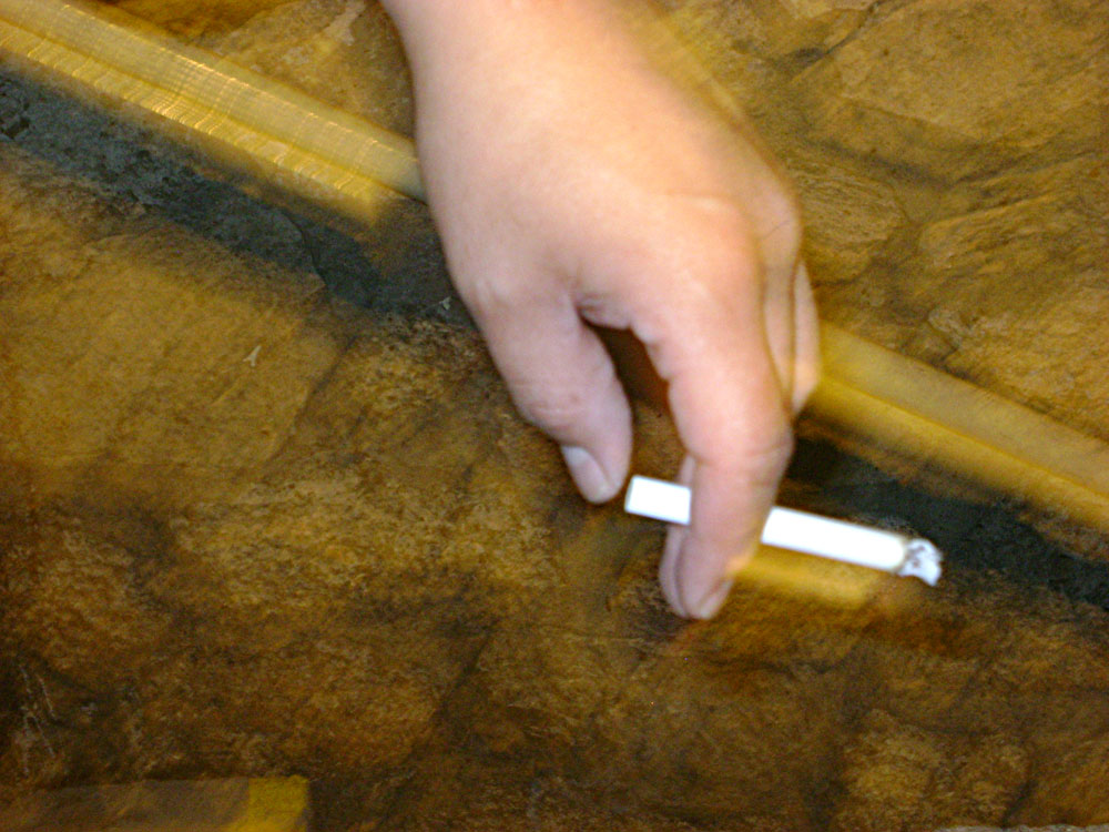 Cigarette pollution doesn't stop with smoke. (Fabián Laveaga/Borderzine.com)