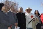 Chicano leaders meet at UTEP for the Restore César Chávez Rally. (Raymundo Aguirre/Borderzine.com)