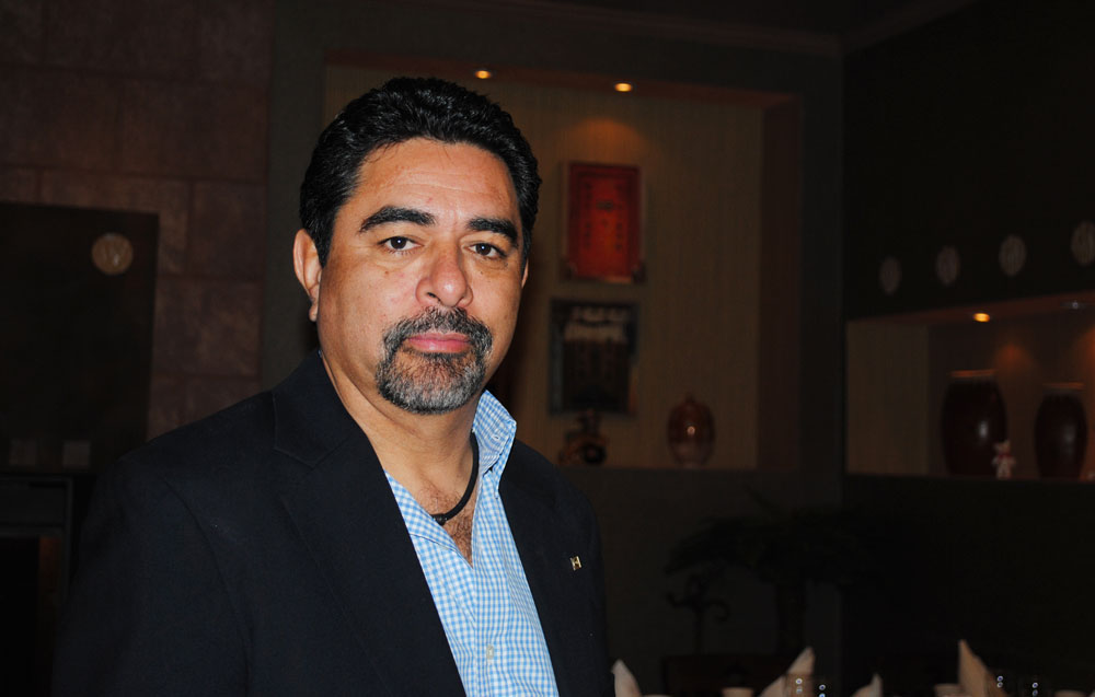 José Luis Mauricio, President of La Red (Beatriz Castañeda/Borderzine.com)