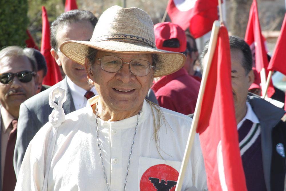 Pete Duarte, former director of Centro de Salud Familiar La Fe and CEO (or, Chief Servant as he prefers to be called) at Thomason Hospital. (Raymundo Aguirre/Borderzine.com)