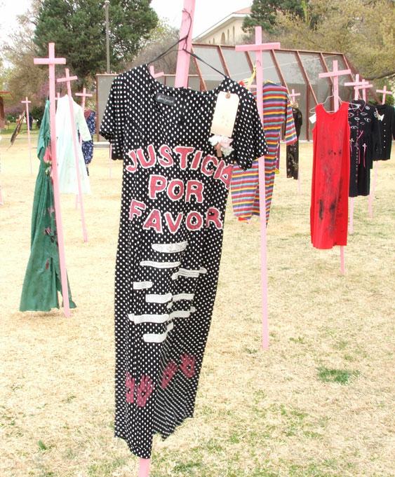 """""""Justicia por favor"""" piden los Amigos de las Mujeres de Juárez en diversas actividades realizadas a lo largo de la frontera. (Cortesía de Amigos de las Mujeres de Juárez)"""