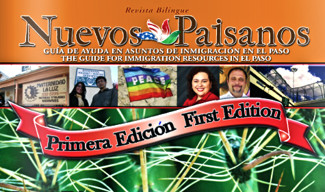 The first edition of Nuevos Paisanos is available on the web. (Courtesy of Del Pueblo Press)