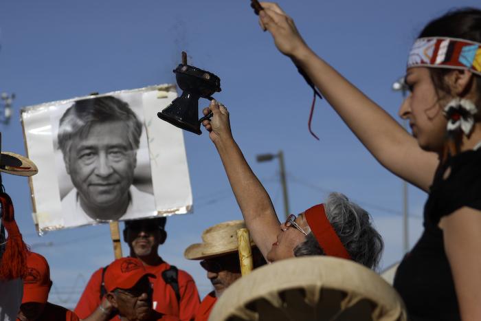 César Chávez celebration at El Paso, March 31 2011. (Raymundo Aguirre/Borderzine.com)