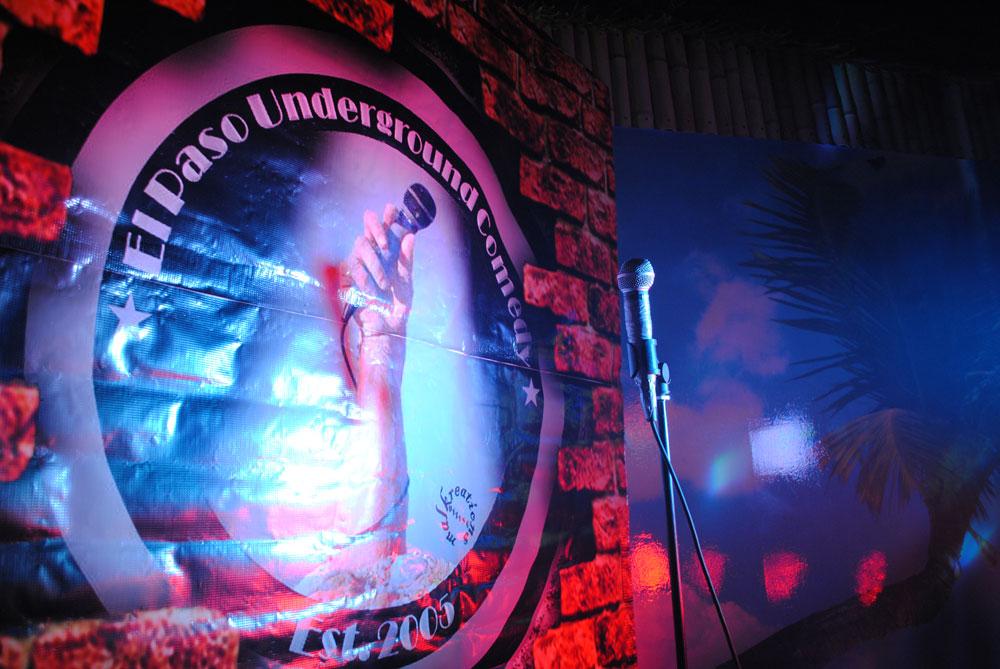 El Paso Underground Comedy Group. (Omar Lozano/Borderzine.com)