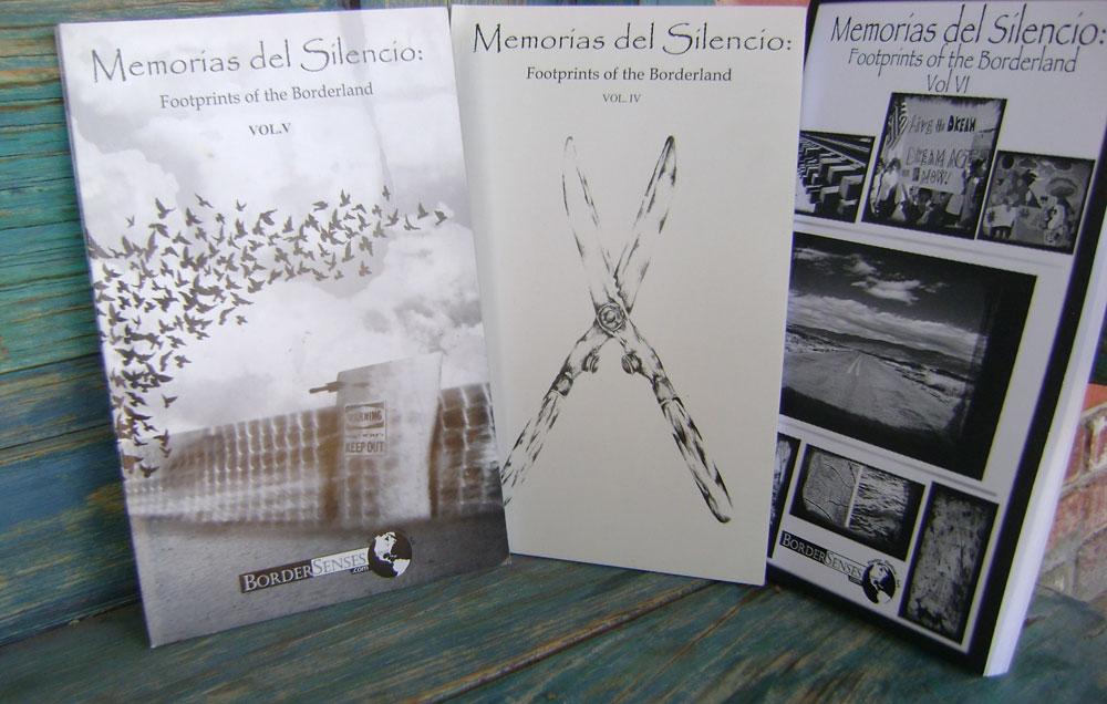 <em>Memorias del silencio</em> book series. (Fabián Laveaga/Borderzine.com)