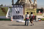 """Juarez is to resist"". (Luis P. Hernandez/Borderzine.com)"