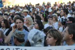 The crowd that attended the Caravan for Peace in Juarez was counted in the thousands. (Luis P. Hernandez/Borderzine.com)
