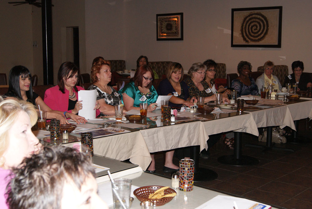 Business owners at Dynamic Women to Women Luncheon. (Priscilla Rey/Borderzine.com)