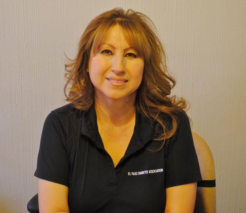 Carmen Enriques, diabetes educator. (Daniel Ornelas/Borderzine.com)