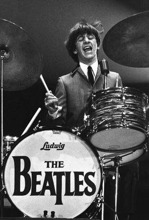 Ringo Star at the Beatles first U.S. concert. (©Mike Mitchell)
