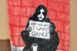 People from different walks of life are demanding change. (Luis Hernández/Borderzine.com)