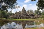 Templo Bayon en Angkor Wat, Cambodia. (Cortesía de José Luis Trejo)