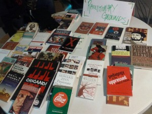 Banned books in TUSD for Chicanos. (Courtesy of D.A. Morales.)