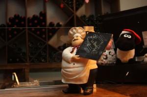 Restaurante La Oveja, de Carlos Castillo. (Raymundo Aguirre/Borderzine.com)