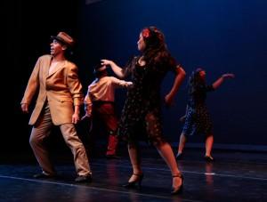 Pachuco Zoot: A Tale of Identity by coreographer Lisa Smith. (Ezra Rodriguez/Borderzine.com)