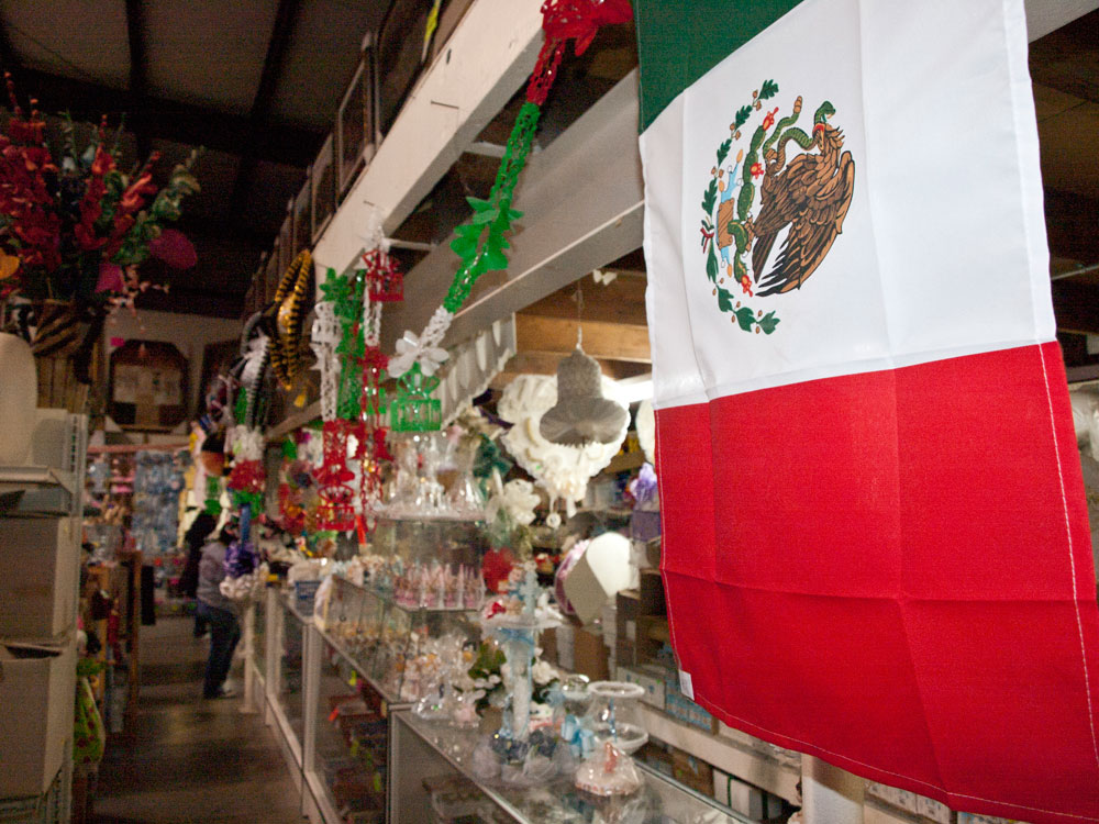 Xicali Imports is one of the businesses that feel negatively affected but NAFTA. (Robert Brown/Borderizne.com)