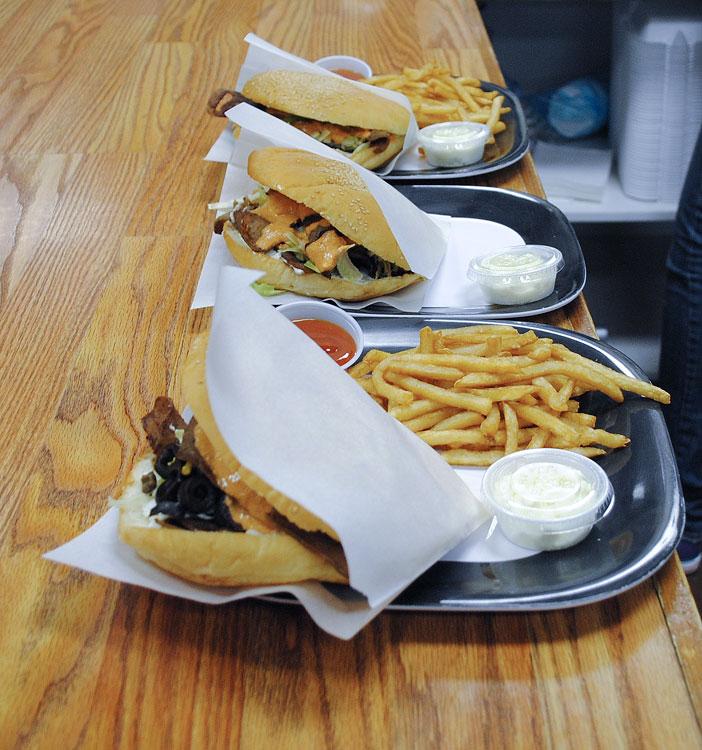 The Döner Kebab Shop offers modern German fast food. (Hector Flores/Borderzine.com)