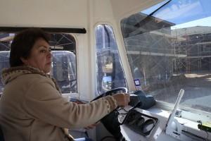 Christina Salinas es dueña de tres cocinas rodantes en El Paso. (Kristian Hernández/Borderzine.com)