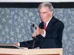 Veteran White House correspondent, Sam Donaldson at the University of Texas at El Paso. (Robert Brown/Borderzine.com)
