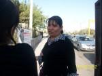Abogada Francisca Galván, asesora del Comité de Madres y Familiares con Hijas Desaparecidas. (Gloria Aime Ramirez/Borderzine.com)