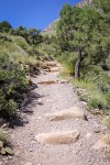 Arduous beginning of the trail. (Ezra Rodriguez/Borderzine.com)