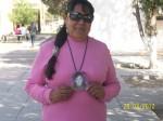 Evangelina Arce madre de Silvia Arce, desaparecida el 11 de marzo 1998. (Gloria Aime Ramirez/Borderzine.com)