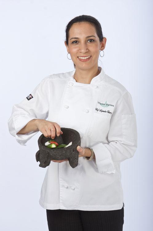 La Chef Alejandra Chávez tiene una historia personal con mucho de sueños y audacia. (Cortesía de Thyme Matters)