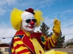 Was the clown laughing at me? (Robert Brown/Borderzine.com)
