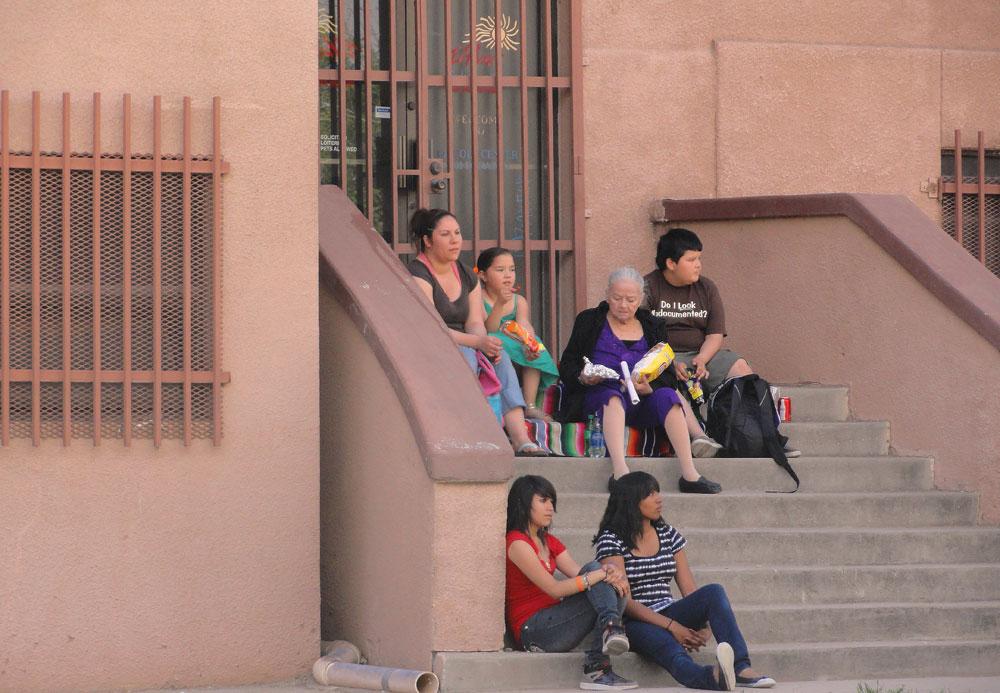 Whole families, from abuelita to grandchildren, enjoyed the event. (Cassandra Morrill/Borderzine.com)