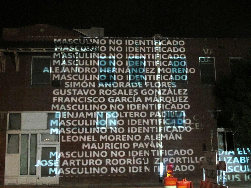 Muchas de las víctimas de la violencia en Juárez todavía no han podido ser identificadas. (Victoria Perez/Borderzine.com)