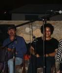 Two members of the San Patricios. (Cheryl Howard/Borderzine.com)